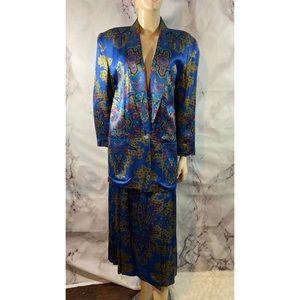 Vintage Liz Claiborne Skirt blazer suit sz 6/8